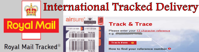 Royal Mail Worldwide Tracked and Signed Delivery Service